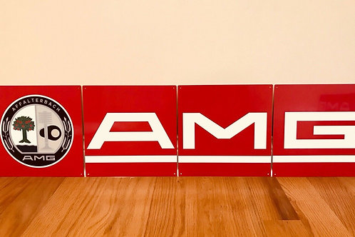 AMG - 4 PIECE SIGN_RED