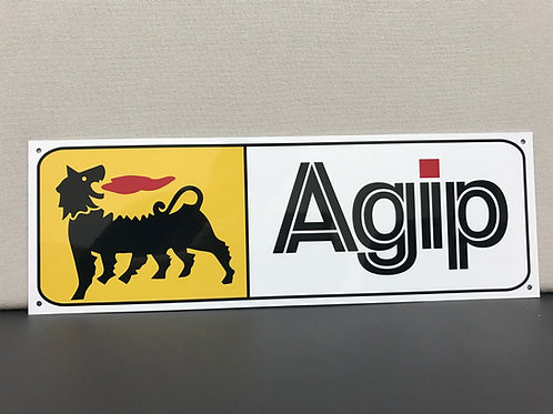 AGIP RACING OIL REPRODUCTION SIGN