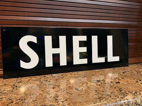 Shell 50`s Vintage Sign