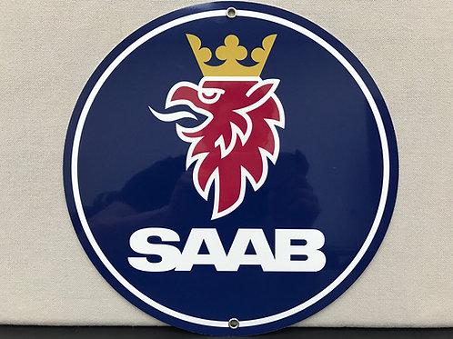 SAAB REPRODUCTION SIGN