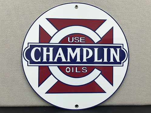Champlin Oil Vintage Sign