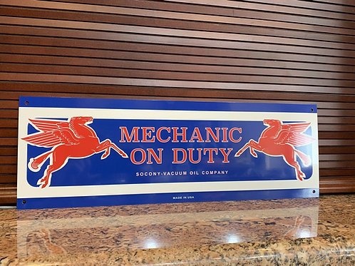 Mobiloil Pegasus Mechanic On Duty