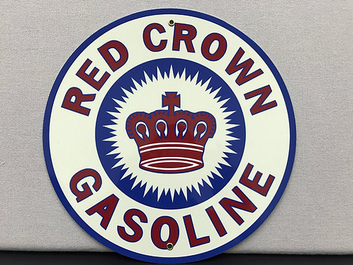 RED CROWN REPRODUCTION SIGN