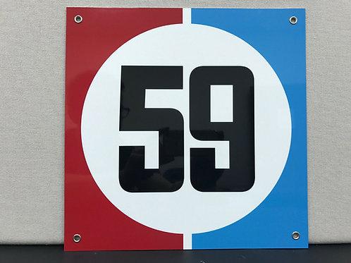 RACING GARAGE SIGN