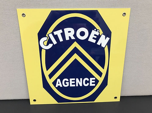 CITROEN AGENCE REPRODUCTION VINTAGE SIGN