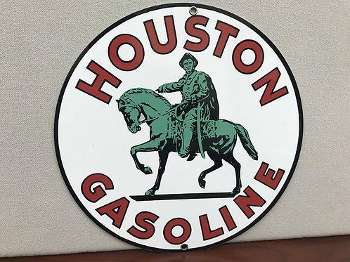 Houston Gasoline Vintage Sign