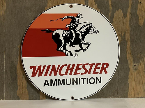Winchester Ammunition Vintage Sign