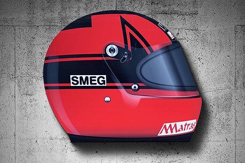 Gilles Villeneuve 1979 F1 Helmet