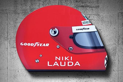 Niki Lauda Helmet (Rush)