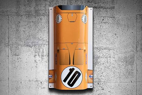 Bruce McLaren Top View_White Background