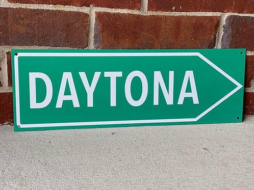 Daytona Road Sign