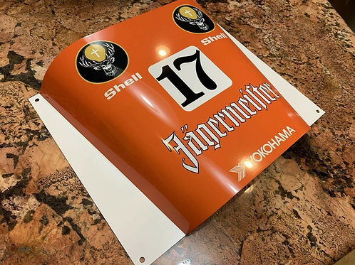 Le Mans Nurburgring Racing Sign