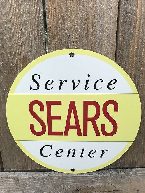 Sears Service Station Sign