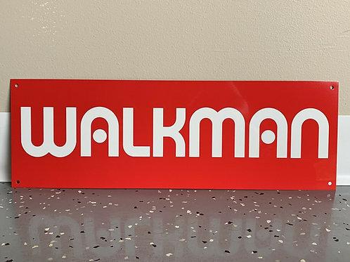 Walkman Vintage Sign