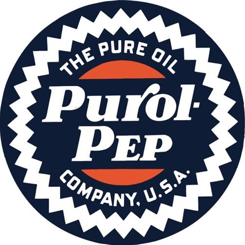 PUROL PEP PURE OIL REPRODUCTION SIGN