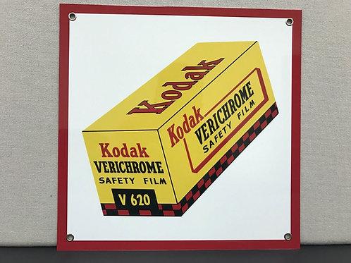 KODAK VERICHROME REPRODUCTION SIGN