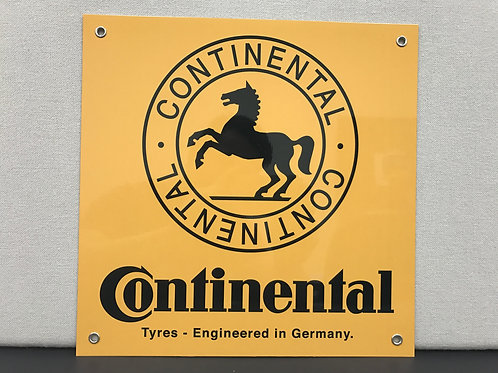 CONTINENTAL TIRE REPRODUCTION SIGN