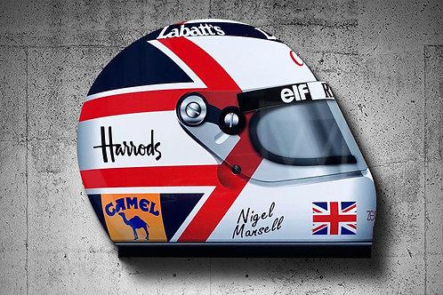 Nigel Mansell 1991 F1 Helmet