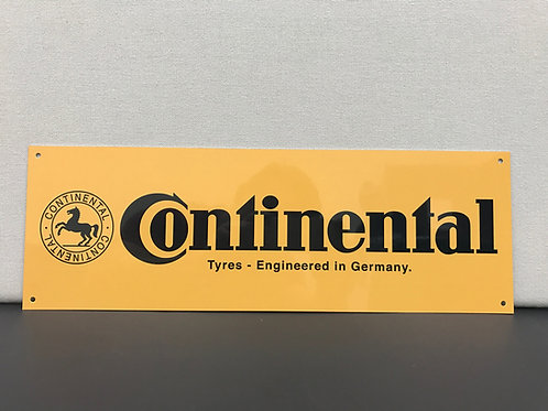 CONTINENTAL TYRES REPRODUCTION SIGN