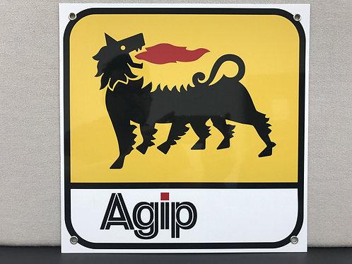 Agip Advertising Garage Sign