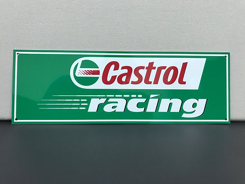 CASTROL RACING OIL REPRODUCTION SIGN
