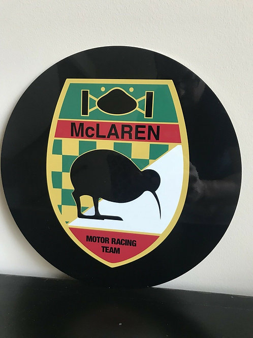 McLaren Racing Team Vintage Sign