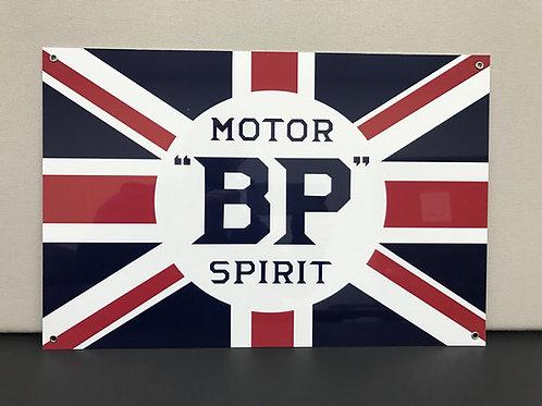 BP MOTOR SPIRIT REPRODUCTION SIGN