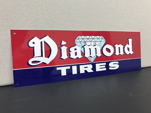 DIAMOND TIRES REPRODUCTION SIGN
