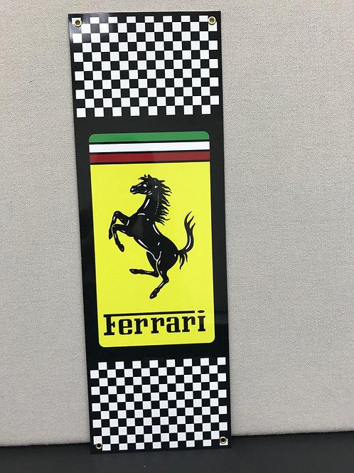 FERRARI RACING TEAM REPRODUCTION SIGN