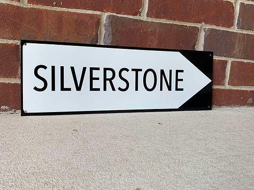 Silverstone Race Circuit Sign