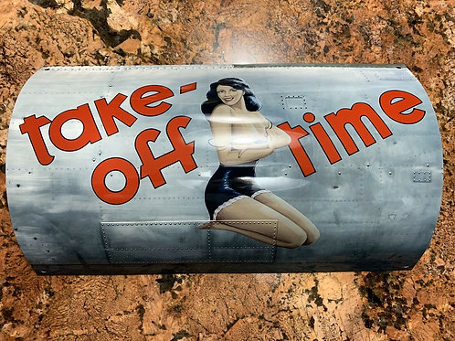 WW II Bomber Pinup Sign