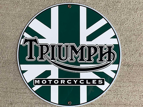 Triumph Motorcycles Reproduction Sign