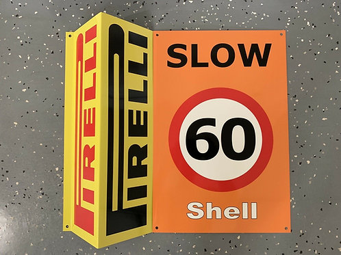 Formula One Speed Limit Pit Stop Sign