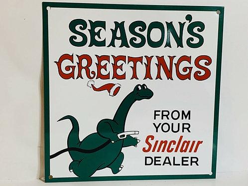 Sinclair Season`s Greetings Sign