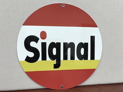 Signal Gasoline Vintage Sign