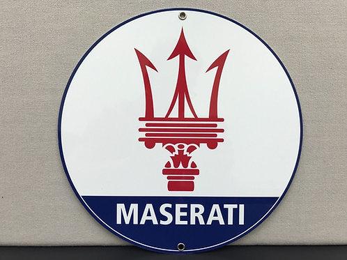 MASERATI REPRODUCTION SIGN