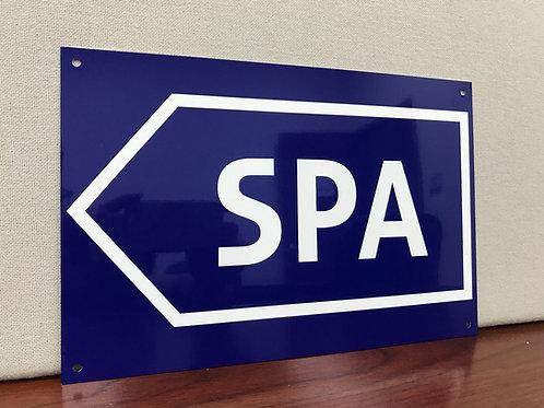 SPA FORMULA 1 ROAD SIGN