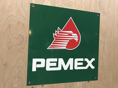 Pemex Mexico Gasoline Sign