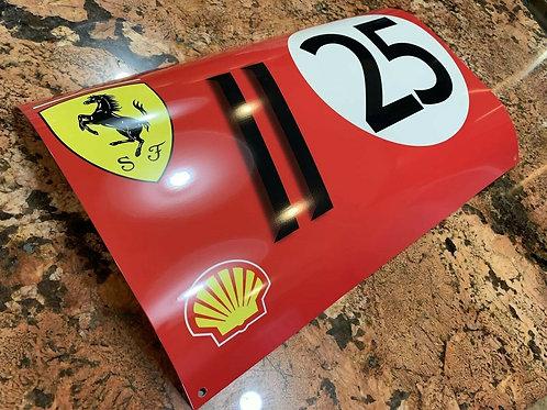 Ferrari Racing Sign