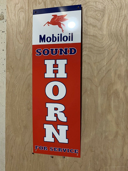 Mobiloil Sound Horn For Service