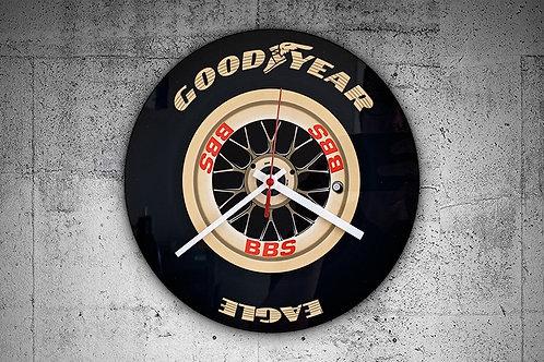 Schumacher F1 Car Wheel Wall Clock