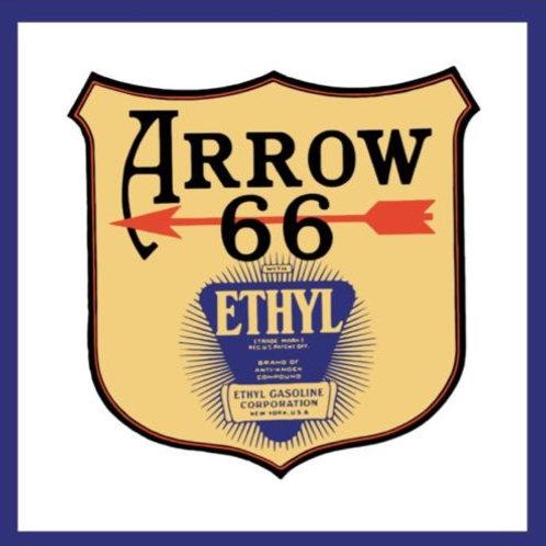ARROW ETHYL GASOLINE REPRODUCTION SIGN