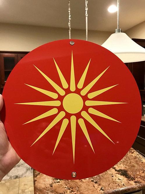 Ancient Macedonia Alexander The Great Symbol Flag