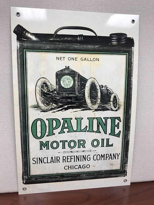 Sinclair Opaline Motor Can Oil Reproduction Sign