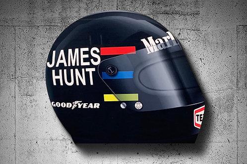 James Hunt 1976 Bell Star F1 Helmet