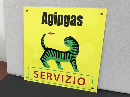 AGIP SERVIZIO REPRODUCTION SIGN