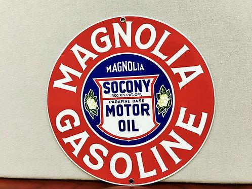 MAGNOLIA GASOLINE SOCONY OIL