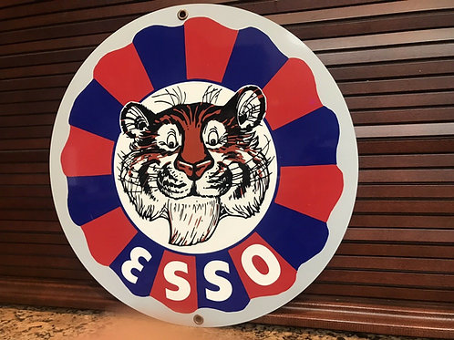 Esso Gasoline Put Tiger In Tank