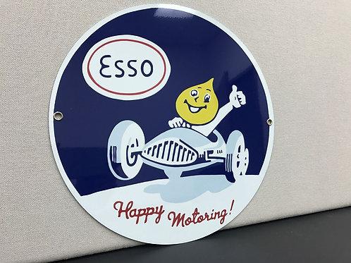 Esso Happy Motoring Sign