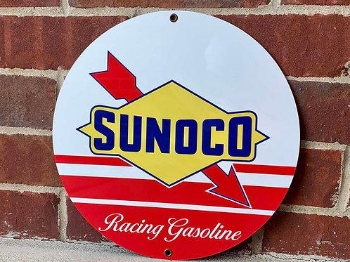 Sunoco Racing Gasoline Vintage Style Sign